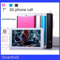 Wholesale Instock Cheap inch dual core phablet pc Mtk6572 android ram MB ROM GB px G phone call tablet pc youtube