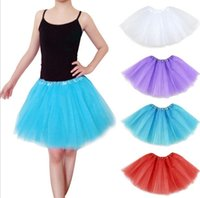 Wholesale 2015 Good Price Pretty Women Girl Elastic Stretchy Tulle Adult Tutu Layer mini Skirt