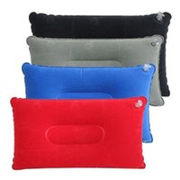 air travel safety - New Travel Outdoor Camping Hiking Inflatable Soft Air Pillow Neck Cushion Safety