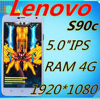 Cheap new discovery Lenovo S90 c MTK6592 Octa Core 4G RAM 32G ROM 1920*1080 5.0''IPS 13.0mp Android 4.4 3G GPS WIFI MP3 mp4 cell phones pk k900