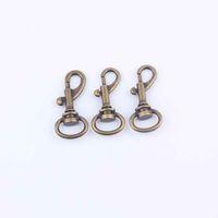 clip handbag - 30Pcs cm Swivel Clips Snap Hook For Handbag Dog Hooks Keyring Keychain