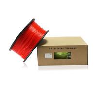 Wholesale 24Pcs MM MM D Printer PLA Filament For MakerBot RepRap KG piece Rubber Material Consumables
