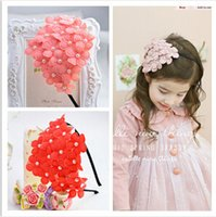 bay solid - Childrens Hair Accessories New Nice Fashion Bay Accessories Flower Accessories V1DD61