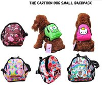 Wholesale 2015 the cartoon Dogs small backpack very cute and popular S M L size Carrying out Teddy dog bags