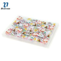 Wholesale Blueness D Nail Art Stickers Beauty Design Christmas Nail Foil Manicure Decals Foil Decorations for Manicure JH159