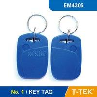 Wholesale NO RFID Key Tag RFID Key Fob for access control RFID SMART Tag RFID Token With EM4305 Chip