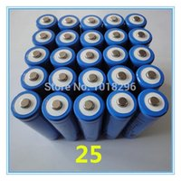 Wholesale 25PCS x New arrival V mAh protected rechargeable li ion lithium battery Hot