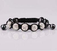 shamballa bracelets - Shamballa Jewelry Bracelets For Women New Shamballa Bracelets Micro Pave CZ Disco Ball mm Bead Shamballa Bracelet SM