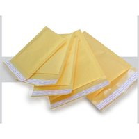 Wholesale Small Kraft Bubble Mailers Padded Envelopes Bags x130 mm Externally Mail Bags kraft and PE bubble