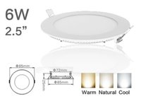 Cheap Yes led panel light Best 85-265V 2835 6w led lamp