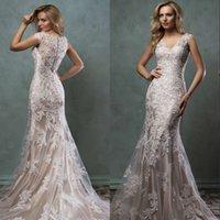 Cheap Amelia Sposa wedding dresses Best 2016 Mermaid Wedding Dresses