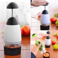 Wholesale New Garlic Triturator Food Chopper Slap Chop Fruit Vegetable Grater Cooking Slicers Tool Kitchen Accessories