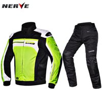 Sets 100% Polyester Quick Dry Germany NERVE Superstar X66 Cycling Jersey Set Motorcycle racing suits Warm waterproof drop resistance Cruising Rally clothes Blanca pants