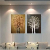 contemporary oil paintings - Pure hand painted oil painting of the head of a bed contemporary sitting room adornment bedroom contracted American porch paint mural painti