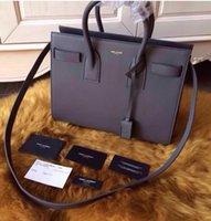 laurent - Star fashion YS100 high quality leather women handbags Laurent Sac De Jour Tote Shoulder bag