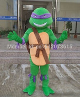 Wholesale factory price mascot Teenage Mutant Ninja Turtles adult size Cartoon Mascot Costume Fancy Dress Party Suit fast shipping pc