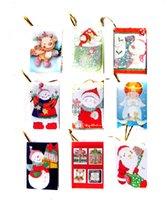 Tarjetas de navidad baratos España-2015 Decoración de árboles de regalos Fabricantes de tarjetas de felicitación de Navidad que desean precio barato envío gratis