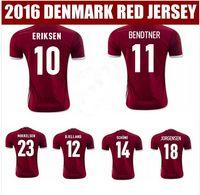6 dhl free shipping 2016 european denmark soccer jersey best top quality 15 16 denmark home atlético nacional juan pablo Ángel edwin cardona .