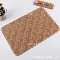10pcs alfombras alfombra al por mayor no tejida EVA patín dormitorio cocina vestíbulo Comercio justo barata almohadilla 40 * 60 tiendas