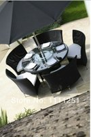 outdoor furniture - All Weather Rattan Outdoor Furniture Dining Set