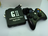 Wholesale 2014 Hot sale product Android Game Box G2 AML8726 S quad core cortex A9 G G with Android