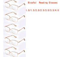 bifocal sun glasses - R8221 Pairs Mix Metal Frame Bifocal Reading Glasses Women Men Sun Readers