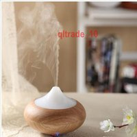 Wholesale 100 TOPB5284 Ultrasonic Air Humidifier LED Light Aroma Oil Diffuser Ionizer Generator Aromatherapy Office Purifier Mist Maker Home Diffuser