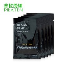 black mask - 2015 PILATEN Facial Minerals Conk Nose Blackhead Remover Mask Pore Cleanser Nose Black Head EX Pore Strip dhl free