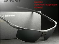 Wholesale sunglasses for men aluminum magnesium aviator glasses HD Polarized sun glasses Sports cycling mirror driving outdoor Wayfarer glasses