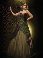 Cheap peacock prom dress Best 2015 prom dress
