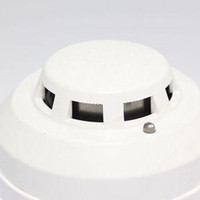 Wholesale New Brand Wired Networking Sensor Smoke Detector For Sale Optical Host components Smoke Detector Alarm With Low Price A5