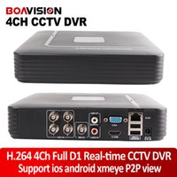 Wholesale 2015 new hd mini ch full h D1 dvr Real time Recording ch AHDL CH P Hybrid dvr NVR Onvif Video CCTV channel Network recorder