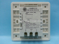 Wholesale 1pcs Automatic Infrared PIR Motion Sensor Switch v Wall Mount PIR sensor switch auto on off indoor led Lamp