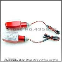 Wholesale X2 RED Turn Signal Indicators Light for Suzuki Honda yamaha vstar kawasaki more bike