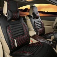 Wholesale car coversWholesale leather car upholstery seasons new full surround new ice silk car seat cushion car suppliescar seat cover