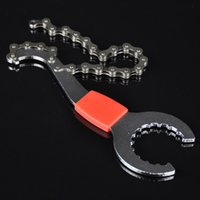 Wholesale 3 in Carbon Steel Bike Tools Wrench Cycling Repairing Tool Bike Bicycle Flywheel Chain Disassembly Axis Wrench Set