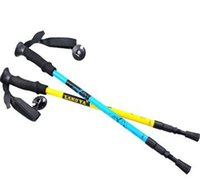 best trekking poles - Best Quality Hiking Walking Sticks Carbon Fiber Alpenstock Trekking Pole Sticks