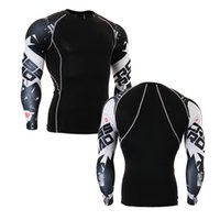 Wholesale Weightlifting boxing shirt mens training top boxing rockets jersey men compression gym t shirt mens sports wear