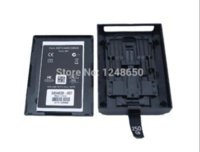 Wholesale For Xbox360 HDD Enclosure case Hard Disk Drive Bag Box HD Case for Xbox Slim G G With Retail Box