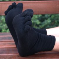 cotton five toe socks - ZuoGeNi Pairs Men s Cotton Five Fingers Toe Socks for men fingers High quality