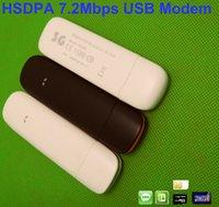 7.2Mbps 3G Mini carte de données externe 2100MHz TF de soutien 3G Dongle avec SIM Card Slot fenêtres de soutien 7 8 Android Tablet PC