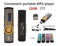 Wholesale 172 Sport Mp3 player GB with clip digital Screen free music downloads MP3 Music Player FM Radio MP3 player