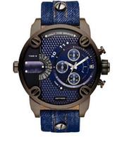 Wholesale Freeshipping DZ7320 Men s Luxury Quartz Watches Dress Watches Time Zones Chrono Mens Watches DZ With Original Box