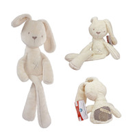 Rabbits & Monkeys Plush Unisex 52cm Mamas & Papas Baby Toys Kawaii Rabbit Appease Sleeping Comfort Stuffed Doll Cartoon Bunny Plush Animals Hot Toys For Baby Gifts