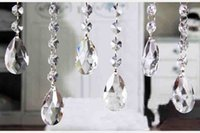 Wholesale 14 MM Octagon Beads Crystal Curtain Finished Product Engineering Lighting Accessories DIY Wedding Hotel KTV Sitting Room Partition Curtain T