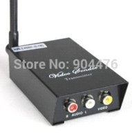 av signal sender - 2 GHz Signals Channels AV Audio Video Sender Wireless Transmitter Receiver For CCTV Camera DVD VCR DVR New