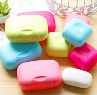 candy dish - Bathroom Accessories Candy Color Soap Box Home Hotel Travel Soap Dish Waterproof Soap Case SoapBox X7 X4 cm SMALL WD8