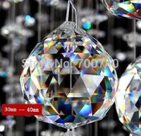 Wholesale FREE FEDEX DHL UPS FAST SHIPPING AAA Top Quality mm K9 MC Clear Crystal Faceted Balls per