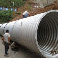 galvanized steel - Corrugated Galvanized steel Pipe for Sale Diameter Galvanized Corrugated Pipe