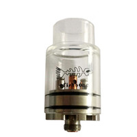 glass fish tank - Newest Glass FishBone RDA Stainless steel and Glass RDA Clear Tank Fish Bone RDA Rebuildable Dripping Atomizers Fit Mods